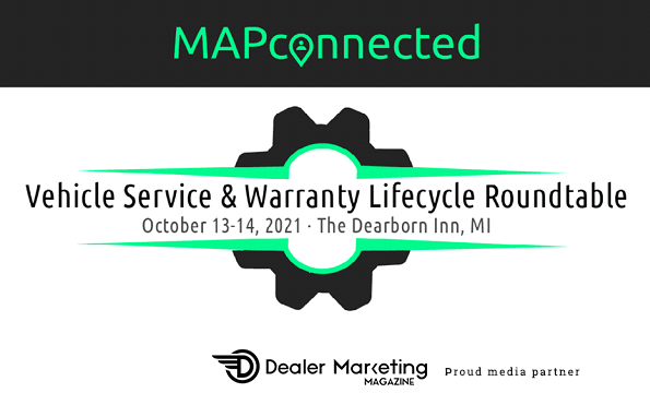 mapconnected vechicle service & warranty lifecycle