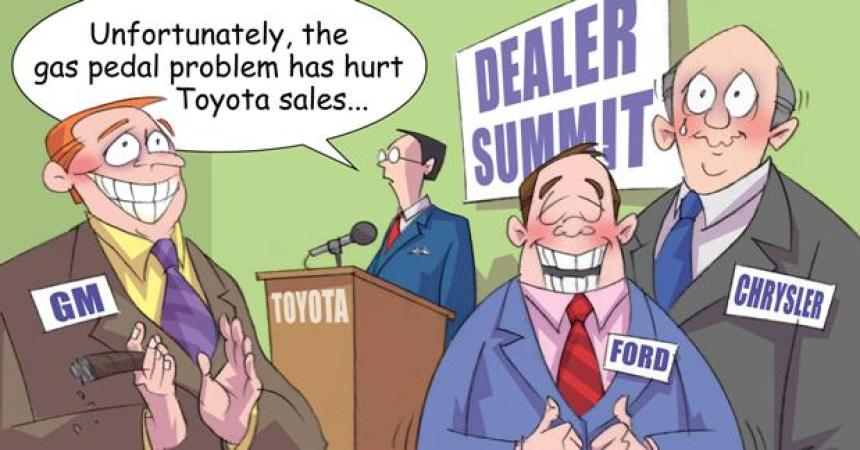 Comic – March 2010 – Dealer Summit