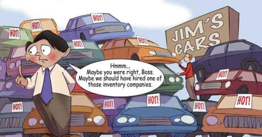 Comic – April 2010 Jim's Cars