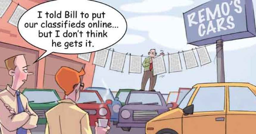 Comic – May 2010 – Put Your Classifieds Online