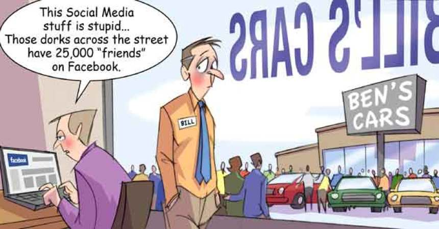 Comic – October 2010 – 25,000 Friends on Facebook