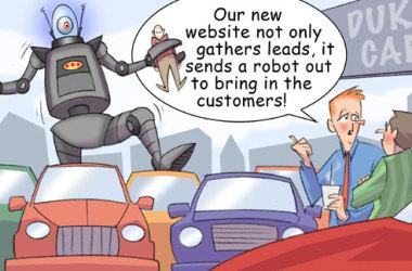 Comic – November 2010 – Lead Gathering Robot