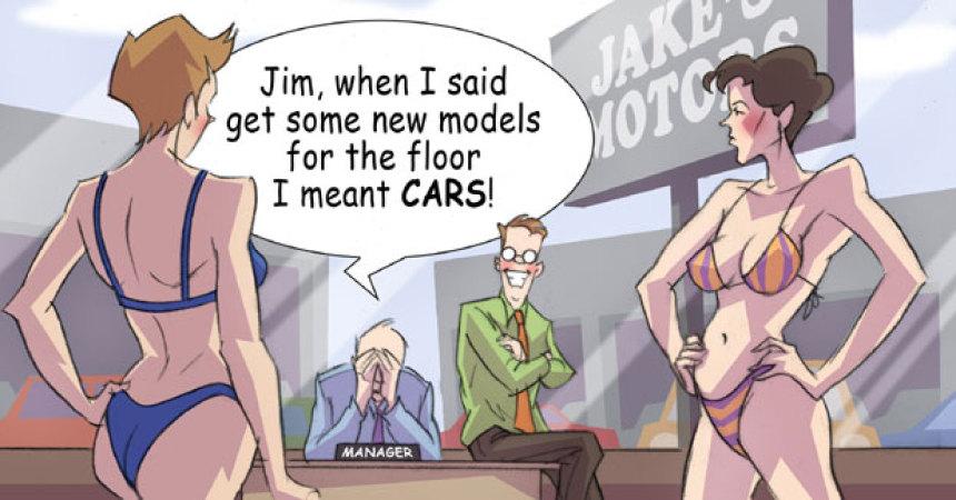 Comic – February 2011 – New Models