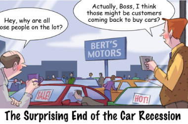 Comic – March 2011 – Surprising Ending to the Car Recession