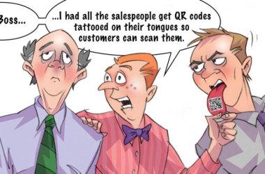 Comic – May 2011 – QR Tags