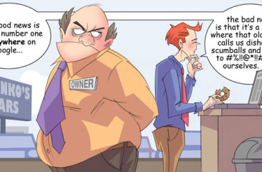 Comic – July 2011 – Number One on Google