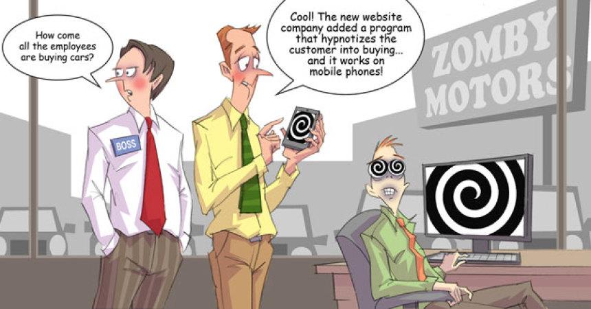 Comic – November 2011 – New Website