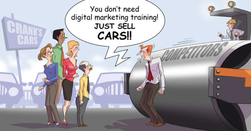 Comic – December 2011 – Just Sell Cars