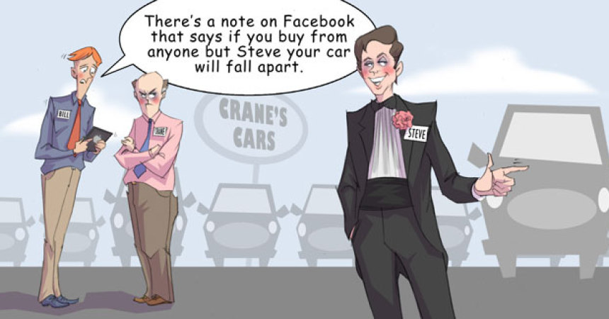 Comic – April 2012 – Facebook Star