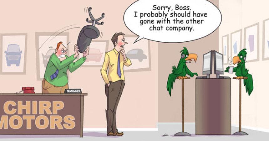 Comic – May 2012 – Wrong Chat Company