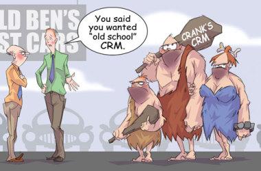 Comic – June 2012 – Old School CRM
