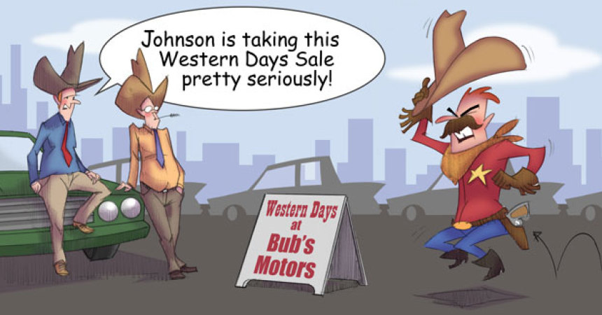 Comic – August 2012 – Western Days