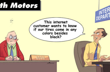 Comic – September 2012 – Internet Customers