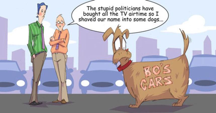 Comic – October 2012 – Politcal Advertising