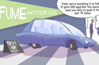 Comic – January 2013 – Fume Motor Corp.