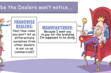 Comic – April 2013 – Maybe the Dealers Won't Notice