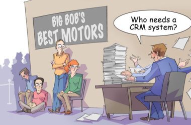 Comic – June 2013 – Who Needs a CRM?