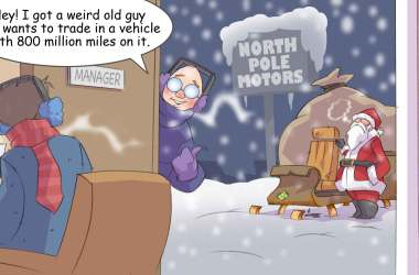 Comic – December 2013 – North Pole Motors