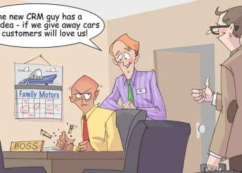 Comic – June 2014 – The New CRM Guy