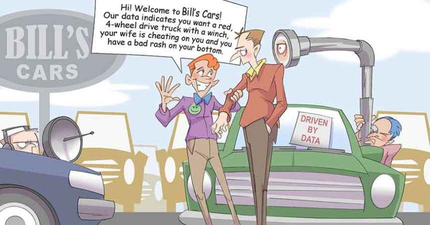 Comic – October 2014 – Marketing with Big Data
