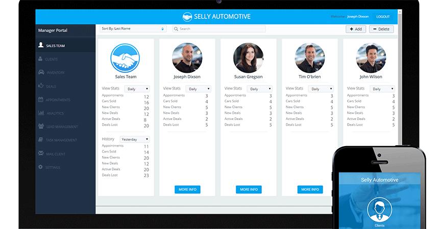 Online Car Dealership Software