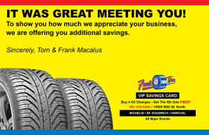 Freds-Tire-Postcard-Front