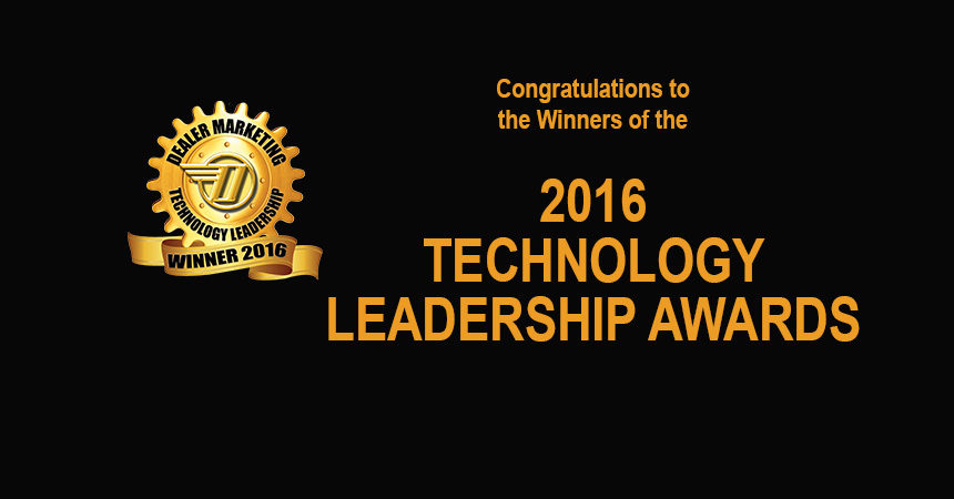 Presenting the 2016 Technology Leadership Awards