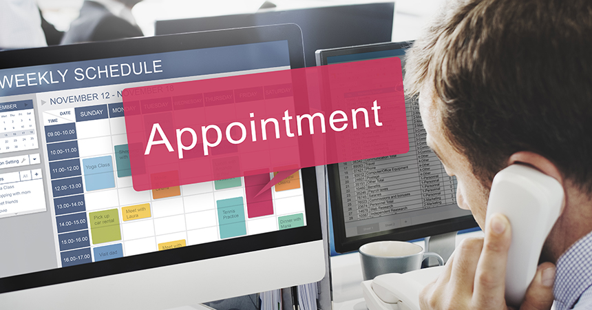 service appointments
