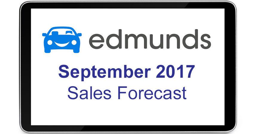 September Auto Sales Expected to Hit New 2017 High, Reports Edmunds