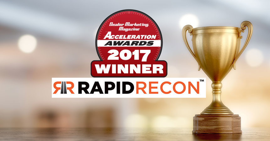 Acceleration Awards Winner Spotlight: Rapid Recon