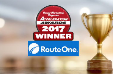 Acceleration Awards Winner: RouteOne