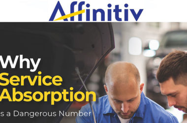 Affinitiv Releases Free E-Book for Dealers: Why Service Absorption Is a Dangerous Number
