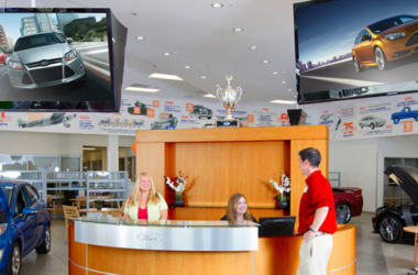 Custom TV Channels Stop Competitors From Advertising in Your Dealership