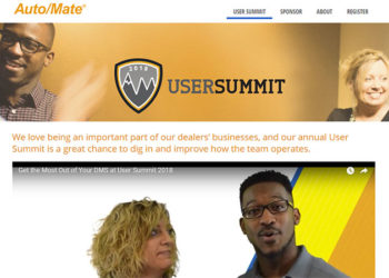 Auto/Mate Announces Dates for Its National Customer User Summit in San Antonio; Issues Call for Sponsorships