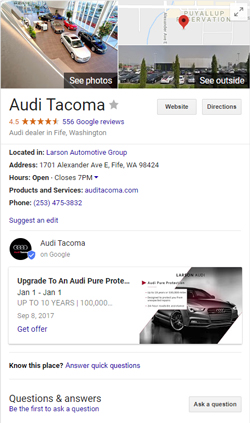 Top 6 Google My Business Optimization Tips for Dealers