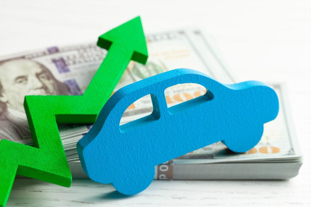 car sales revenue increase